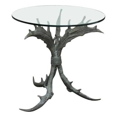 No Winterfell-inspired home is complete without a bronze antler side table.  Bronze Antler Table, $4,381, 1stdibs