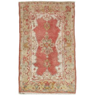 Do you prefer the meticulous tapestries in Lady Crane's Braavos home to a reindeer rug? Then this antique rug in coral, ...