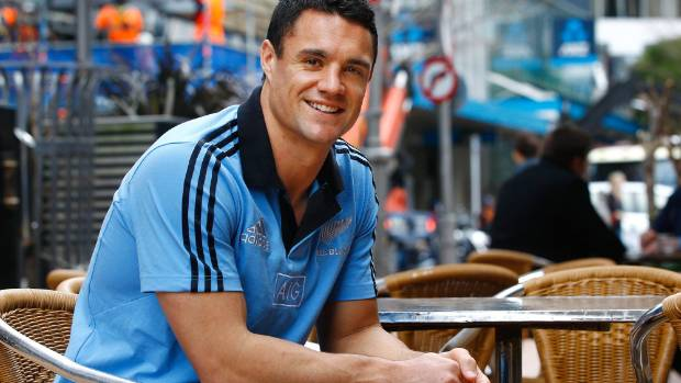 Dan Carter after announcing plans for a rugby sabbatical in 2014.
