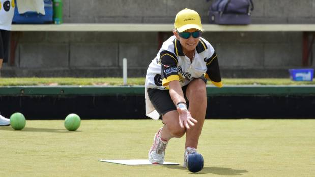 Hinuera Bowler Lynda Bennett won the Australian Disabled Women's Singles at Broadbeach on the Gold Coast.