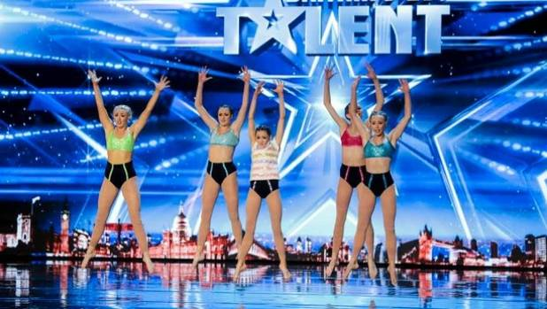 Dance group MerseyGirls on Britain's Got Talent.