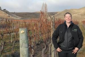 Annabel Bulk from Felton Road is the Bayer Central Otago Young Viticulturist of the Year 2017.