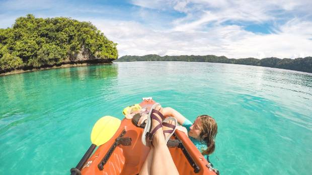 Palau has seen a huge increase in tourists.
