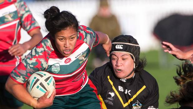 Ruth Tietie and the New Zealand Defence Force women's team couldn't beat Australia at the World Cup.