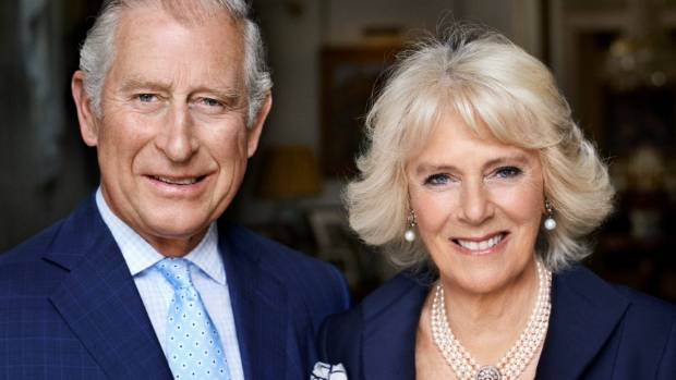 Camilla's new birthday portrait was taken by Mario Testino.