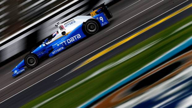 Scott Dixon finished 10th at Indy Toronto.