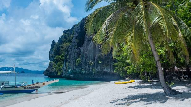 Palawan island in the Philippines.
