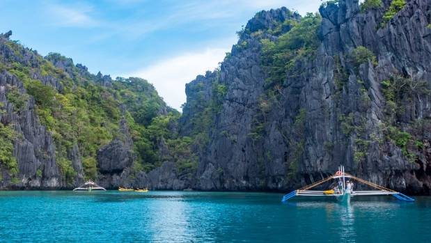 The clear waters of the Big Lagoon provide great kayaking and swimming opportunities.