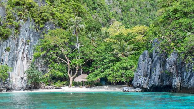 Deserted coves and beaches are dotted all around the Palawan district.