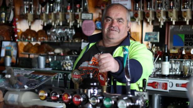 Tapu's Royal Oak Hotel owner Bruce Efford will miss being the local publican.