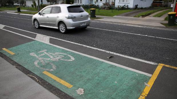 Narrower roads alongside cycleways on some Mangere streets were a source of contention for some locals.