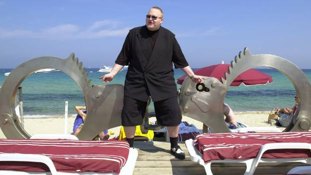 The young Kim Dotcom lives the high life in a still from Kim Dotcom: Caught in the Web.
