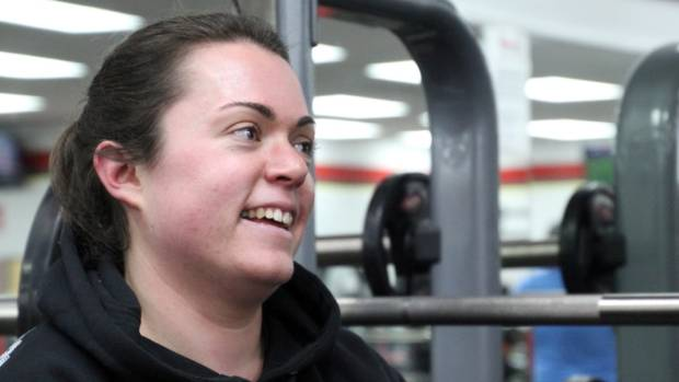 Ro Graveston trains six times a week, and can't wait to get back to the gym