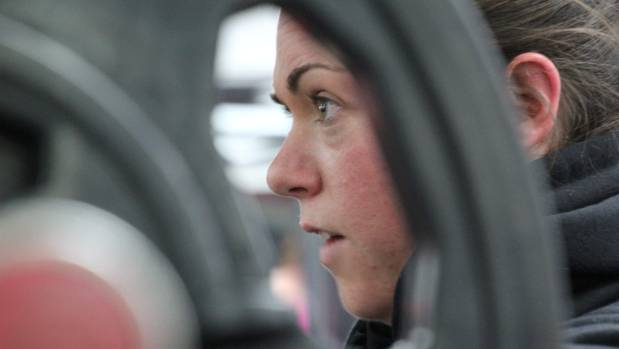 Ro Graveston has been power lifting for less than six months but has discovered a real passion for the sport