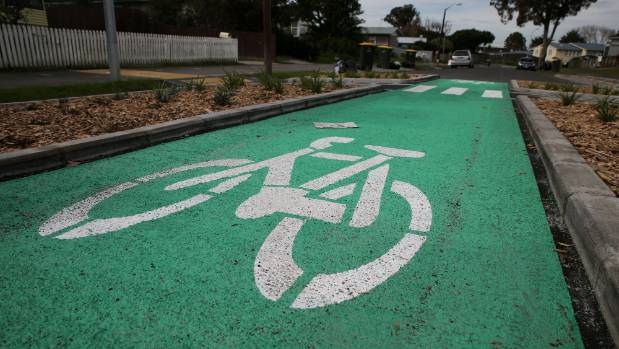 Four cyclists have been involved in serious or minor crashes around the Mangere Town Centre alone between 2012 and 2016.