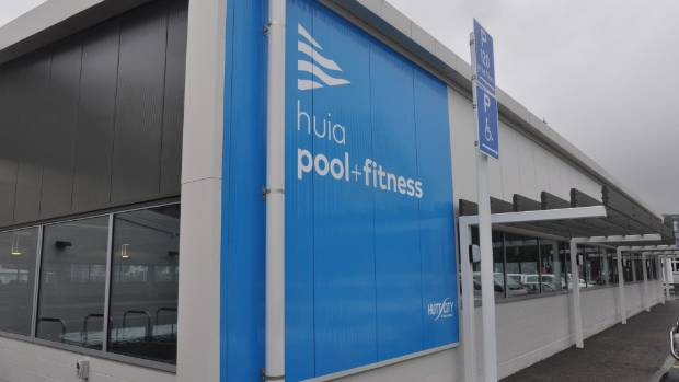The $9.3 million extension to Lower Hutt's Huia Pool includes a hydrotherapy pool, learn to swim pool and a new gym.