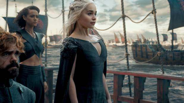 Daenarys finally gets to return to her birthplace in the first episode