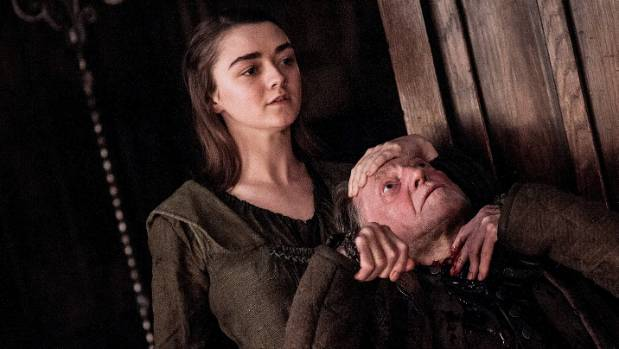 After disposing of the Freys, Arya is heading to Kings Landing to complete her list.