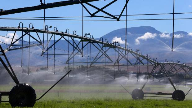Irrigation in the Mackenzie Country.