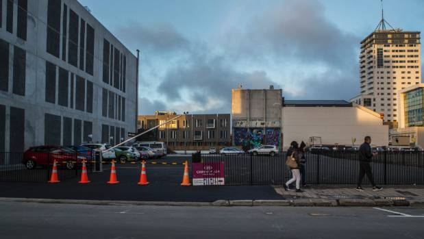 The empty Colombo St site next to the old Forsyth Barr building has been bought by the Government. It will be part of ...