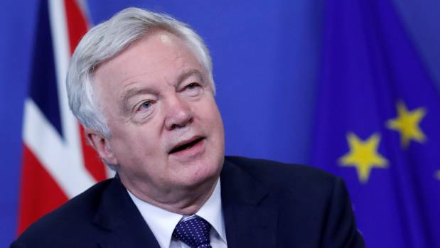 "UK Secretary of State for Exiting the European Union David Davis: ""It's time to get down to work and make this a ..."