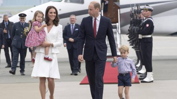 Prince George celebrates fourth birthday