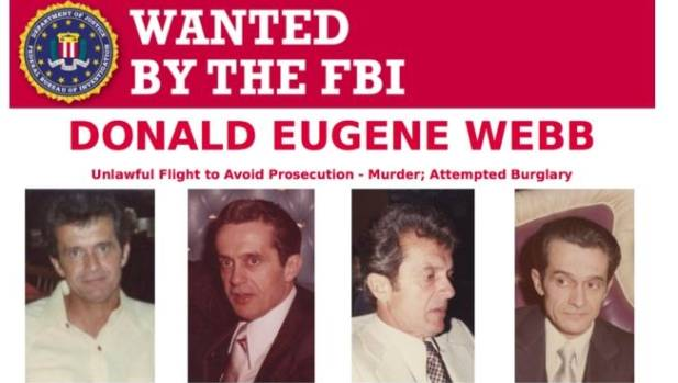 Donald Eugene Webb has been on the FBI's Most Wanted list for decades.