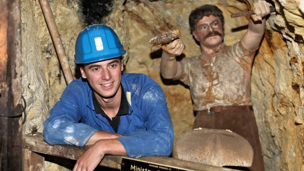 Geologist Ryan Lee worked as a tour guide over the summer break when he was a student.