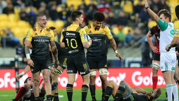 Hurricanes halfback TJ Perenara is happy with Glen Jackson's penalty decision on Saturday night.