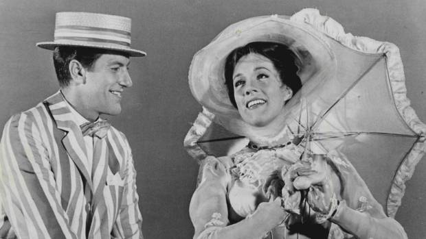 Dick Van Dyke and Julie Andrews starred in the original Mary Poppins in 1964.