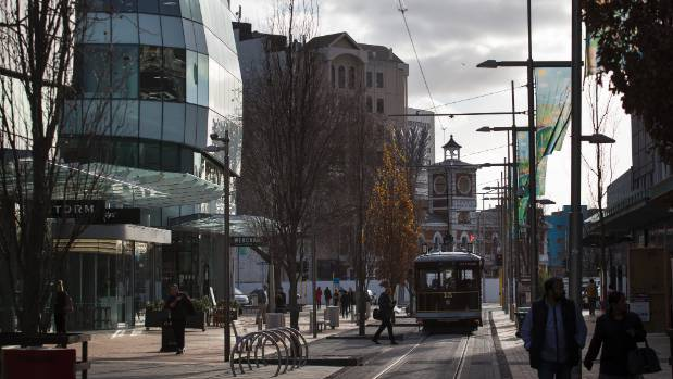 Office rents are already falling and central Christchurch could soon reach shop saturation point, researchers say.