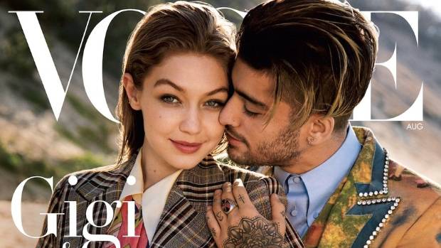 US Vogue's August cover was criticised for using Gigi Hadid and Zayn Malik as an example of gender fluidity.