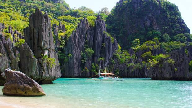 The islands in the Palawan region were the inspiration for Alex Garland's book and subsequent film, The Beach.