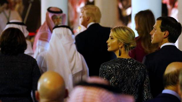 Ivanka Trump also didn't cover her head or wear robes during the visit to Saudi Arabia. Her blonde tresses and ...