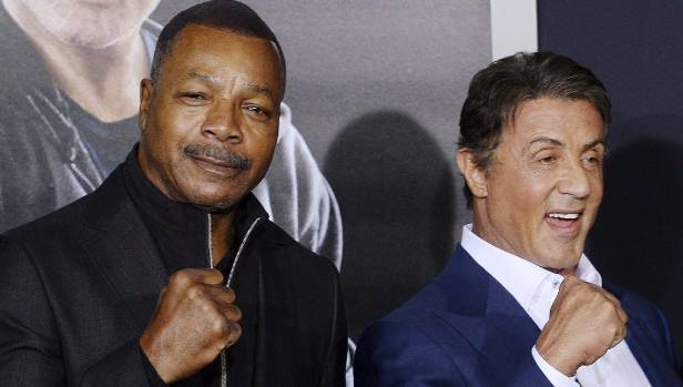 More than four decades after the original Rocky, Carl Weathers and Sylvester Stallone have remained friends.