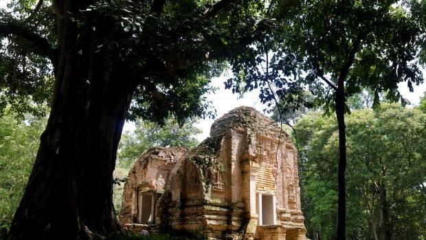 Sambor Prei Kuk temple is an archaeological site of Ancient Ishanapura.