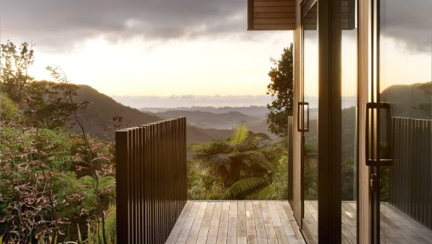 """The views from the deck outside the guest rooms: """"The drive in is really cool, all winding, just amazing bush with ..."""