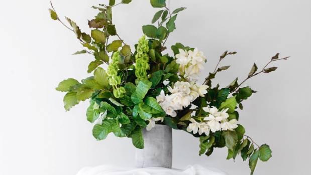Tips for creating an asymmetrical flower arrangement.