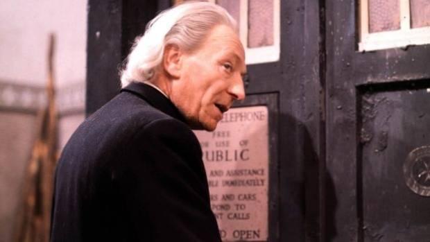 Original Doctor, William Hartnell.