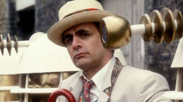 """The seventh Doctor Who, Sylvester McCoy, once described the Doctor as a male character, """"just like James Bond""""."""