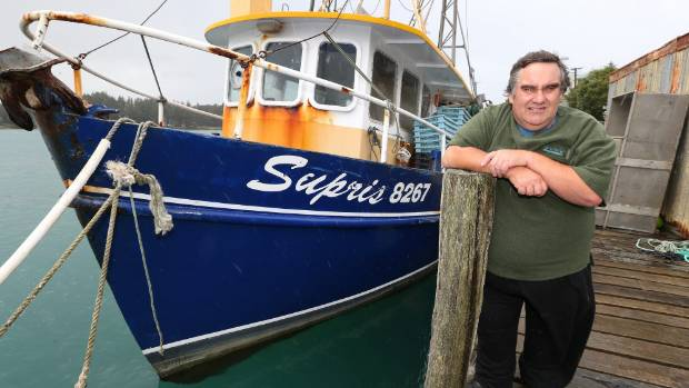 Riverton fisherman Cyril Lawless, pictured here in 2014, has raised concerns about new the introduction of new digital ...