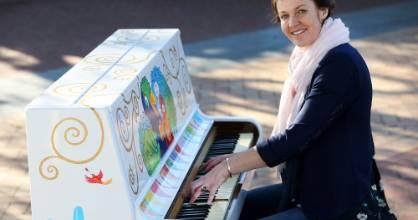 """Creative Kids director Liz McKay describes music as her """"soul food""""."""