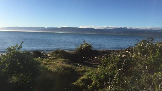 A view of the mainland from Kapiti Island on Tuesday morning.