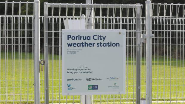 The new weather station at Elsdon Park has revealed it's true what locals have long suspected - it's warmer in Porirua ...
