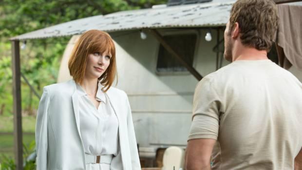 Chris Pratt and Bryce Dallas Howard had great chemistry in Jurassic World.