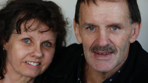 Doug Murcott and Sally Tolliday, shown earlier this year, plan to get married next month.