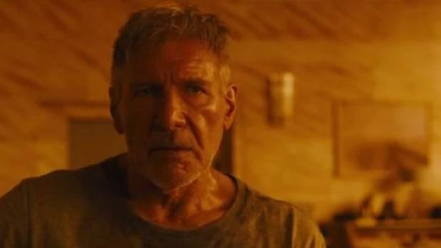 Rick Deckard played by Harrison Ford.