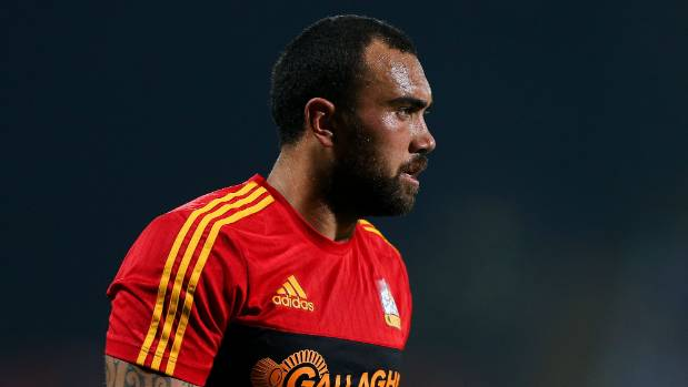 Charlie Ngatai didn't end up travelling with the Chiefs for their quarterfinal, due to an ankle injury.