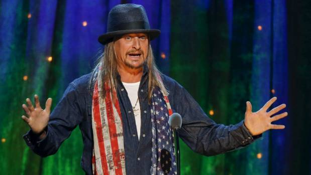 Kid Rock says he's planning to jump into the world of politics.