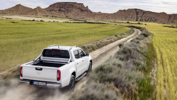 South Africa Australia and New Zealand are the big markets for Mercedes-Benz's new ute